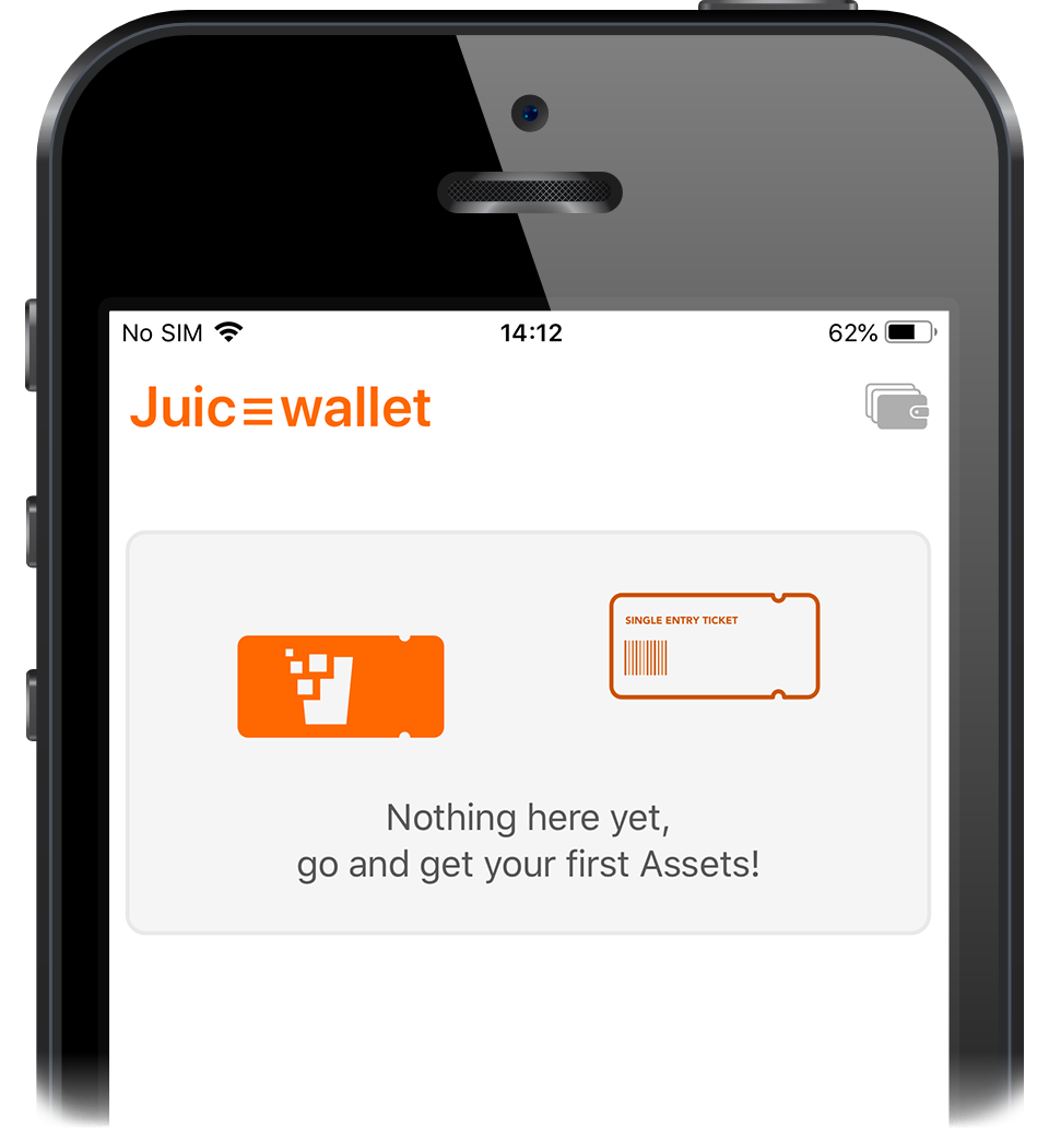 Juicewallet application